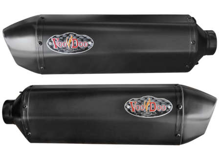 Voodoo Black Performance Exhaust - Blockers Enterprises, Inc